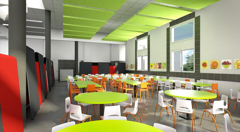 Am nagement de restaurant collectif cantine convivio for Restaurant collectif