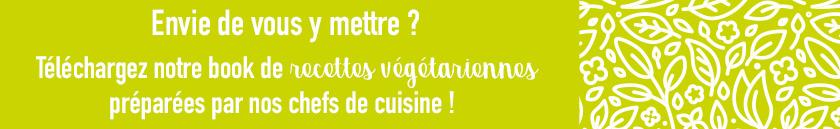 Découvrez nos recettes végétariennes !