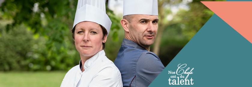 Concours culinaire - Jerome Cottais et Stéphanie Brehune