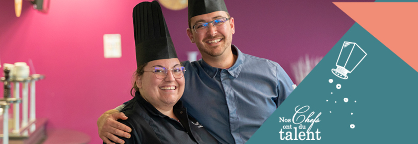 Concours culinaire-duo-Mael Guillou Camille Martin