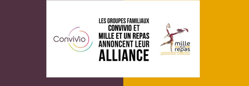 Alliance Convivio et Mille et un Repas