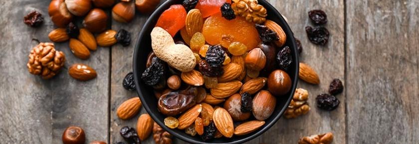 Découvrez les bienfaits des fruits secs !