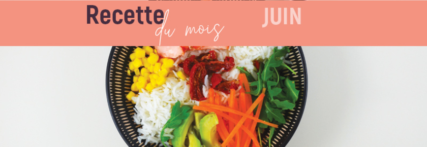 Bowl du mois de juin : chirashi