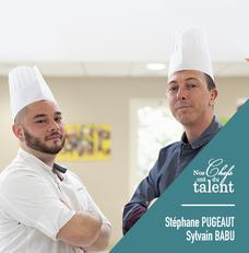 Concours culinaire Stephane Pugeaut - Sylvain Babu