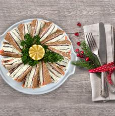 recette-noel-mille-feuille-saumon-wasabi-algues