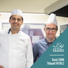Concours culinaire David Jubin et Thibault Paturle