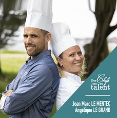 Concours culinaire Jean Marc Le Mentec et Angélique le Grand